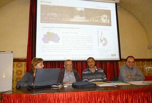 Assemblea General 2013 - Canvi de Junta