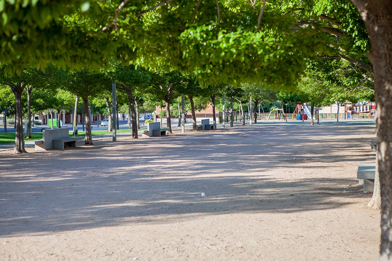 Parc plaça President Companys
