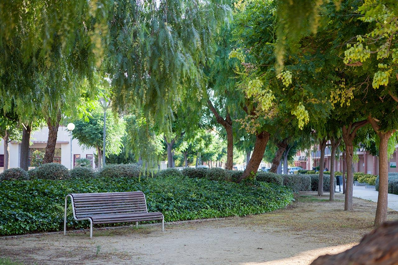 Parc Molls de l'Estació - Rafael de Casanovas